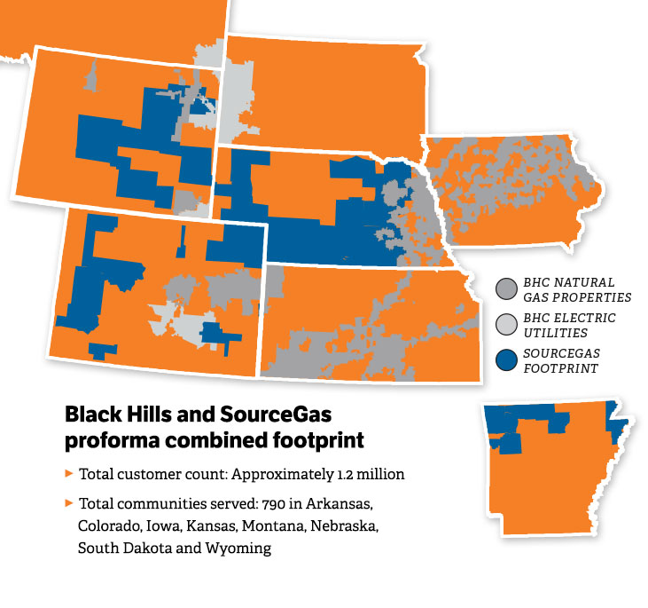 Sourcegas Acquisition Black Hills Corporation