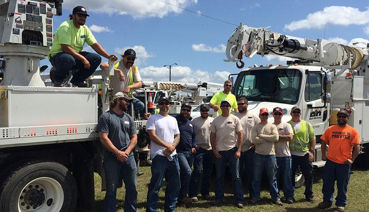 Crews from Black Hills Energy are helping restore power in Florida following Hurricane Irma